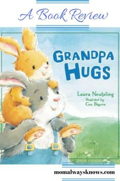 Children's Book Review: Grandpa Hugs by Laura Neutzling, Illustrated by Cee Bigcoe