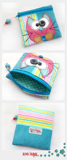 Clutch Purse, Coin Purse, Diy Wallet, Denim Bag, Felt Toys, Zipper Bags, Learn To Sew, Fabric Crafts, Purses And Bags