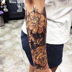 Girls Tattoo Set #tattoo #girl #hand #arm #sleeve