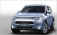 Al volante del Outlander PHEV, el híbrido «enchufable» de Mitsubishi