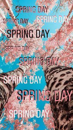 Bts Spring day wallpaper