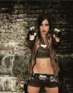 Lara Croft - Lucca Comics and Games 2012 (Jacket not incl.)