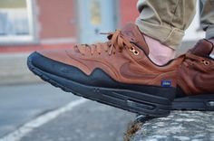 Nike ID Air Max 1 Pendleton custom (by Maxime Le Grelle)