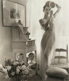 gueule-de-loupviolette:  Photographer Louise Dahl-Wolfe-Fashion (1940s)