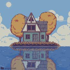 Arte 8 Bits, Pix Art, Pixel Animation, 8 Bit Art, Pixel Design, Pixel Art Games, Art Template, Pretty Art, Game Design
