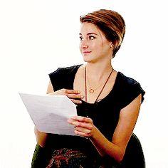 Shailene Woodley, shailene, and shailene woodley gif image