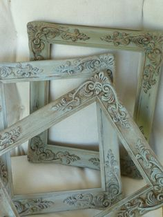 Vintage French Gesso Style Frames