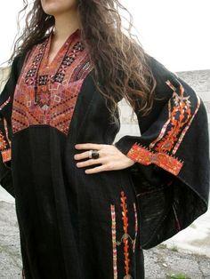Vintage Bedouin dress