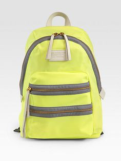 $198.00 Black available Marc by Marc Jacobs - Packrat Nylon Backpack - Saks.com