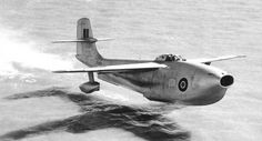 """Saunders-Roe taking off from the water (1947) """""""