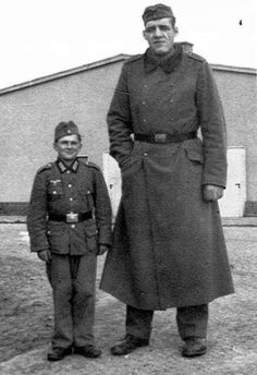 German Soldiers, Small and Large