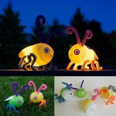 ❇DIY Fireflies❇  http://www.apartmenttherapy.com/DIY-fireflies-that-really-light-up-147918