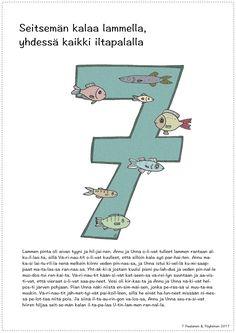 Numero 7 Opi, Count, Math, School, Number 7, Math Resources, Schools