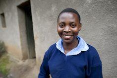 Sophia, one our dearest students.     Be a part of bettering education in Rwanda: http://landofathousandhills.com/forgiveness/forgiveness-school/