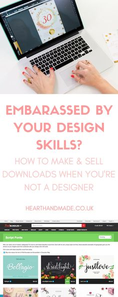 How To Make And Sell Downloads When You're Not A Designer http://www.hearthandmade.co.uk/how-to-make-and-sell-downloads/?utm_campaign=coschedule&utm_source=pinterest&utm_medium=Heart%20Handmade%20UK&utm_content=How%20To%20Make%20And%20Sell%20Downloads%20When%20You%27re%20Not%20A%20Designer