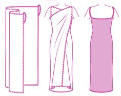 How to sewe a Dress. Easy for beginners like me. I love the look of it.