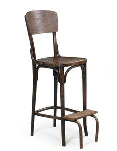 Thonet, Bureau Chair,1890. Beech bentwood. Via Dorotheum.