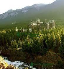 Banff Springs Kanada - Urlaub.
