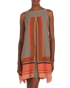 Fly-Away Swing Dress by muse at Last Call by Neiman Marcus.