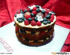 Bezlepkový nahatý dort(Naked cake) Naha, Gluten Free, Desserts, Food, Glutenfree, Deserts, Sin Gluten, Dessert, Meals