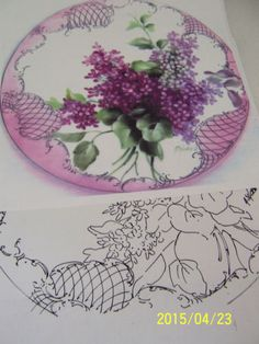 CHINA-PAINTING-STUDY-LILACS-SCROLLING-MARY-ASHCROFT-SEEHAGEN