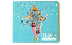 CD cover by Ilona Partanen, via Behance