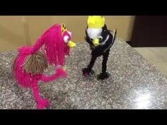como hacer un titere o marioneta facil paso a paso - YouTube