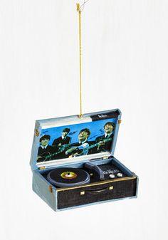 For the Record Ornament | Mod Retro Vintage Decor Accessories | ModCloth.com