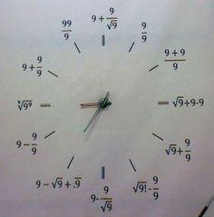 clock of nines