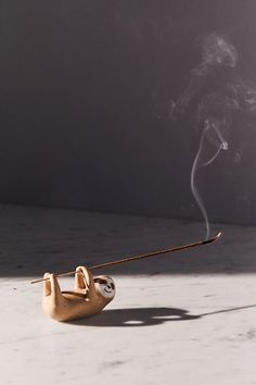 Shop Sloth Incense Holder at Urban Outfitters today. We carry all the latest styles, colors and brands for you to choose from right here. Diy Incense Holder, Ceramic Incense Holder, Urban Outfitters, Insence Holder, Keramik Design, Seaside Style, Quirky Home Decor, Incense Sticks, Incense Burner