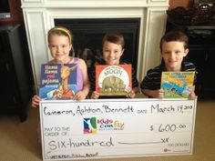 What amazing kids! These triplets made a donation to the Imagination Library in lieu of birthday gifts! Empathy and kindness from our young and community minded! 9th Birthday Parties, Birthday Ideas, Birthday Gifts, Happy Birthday, Dolly Parton Imagination Library, Teaching Empathy, Special Kids, Make A Donation, Triplets