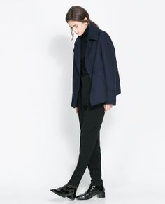 Image 1 of STUDIO JACKET WITH POCKETS from Zara