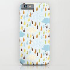 Colourful Rain iPhone & iPod Case