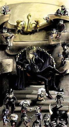 Jareth the Goblin King - Dark by Zaiburst