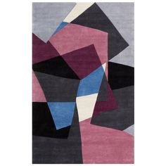 Artistic Weavers Sapphire Blue Rug - Home Depot // can't decide between the purple/blue and the teal/red Textiles, Contemporary Area Rugs, Hand Tufted Rugs, Carpet Design, Geometric Rug, Throw Rugs, Home Depot, Colorful Rugs, Cosmopolitan
