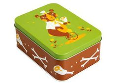 kleurrijke lunchbox in circus thema Blafre   kinderen-shop Kleine Zebra
