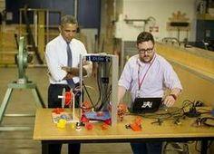 President Obama Pledges To Build Up U.S. #Manufacturing #NationOfMakers #STEM #Make