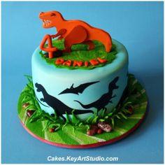 dinosaur cake ideas design 1