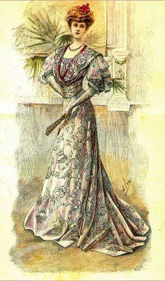 20th century fashion postcard colouring book