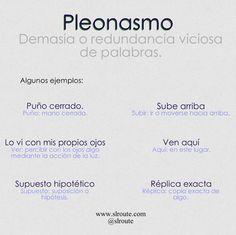 PLEONASMO Grammar Book, Spanish Grammar, Spanish Language, Copy Editing, Proofreader, College Hacks, Idioms, More Than Words, New Words