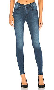 60e4428d14 Dr. Denim Lexy Jean in Worn Dark Blue | REVOLVE | Fashion | Denim ...