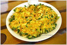 green onion omelette | Taiwanese cuisine
