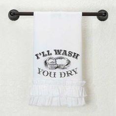 I'll Wash, You Dry Tea Towel