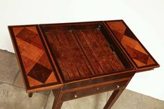 George III Inlaid Games Table 6