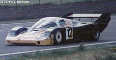 RSC Photo Gallery - Silverstone 1000 Kilometres 1984 - Porsche 956 no.12 - Racing Sports Cars