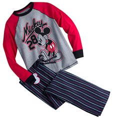 Mickey Mouse Pajama Set for Men