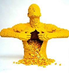 Lego Man by quantumgeek