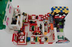 lego joker ice-cream parlour batman dc custom build