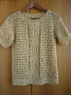 Ravelry: Top with Dropped Stitches pattern by Equipo de Diseño de Fil Katia, S.A.