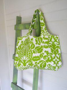 Pretty tote bag.